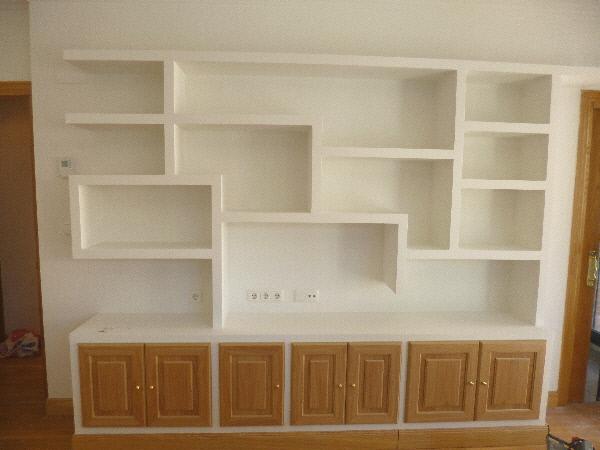 trabajos en escayola y pladur - Muebles De Escayola