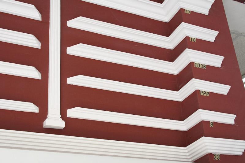 Cornisas de escayola para techos trendy molduras - Molduras de escayola ...