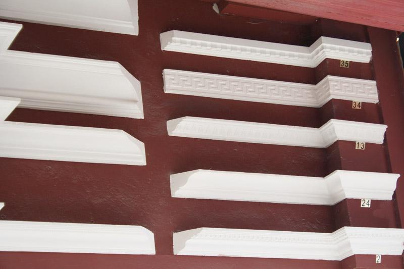 Cornisas escayola para techos materiales de construcci n para la reparaci n - Molduras de escayola ...